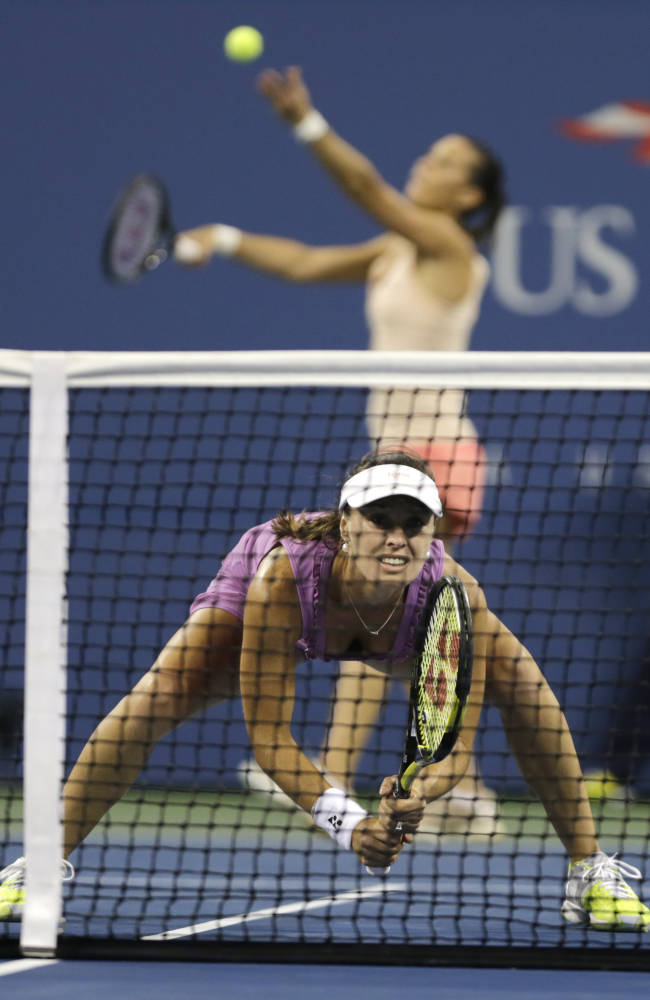 Makarova and Vesnina win US Open doubles title