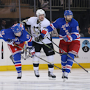 Pittsburgh Penguins v New York Rangers - Game Four Getty Images