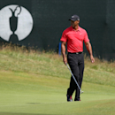 Tiger Woods of the US prepares to putt on the 15th green during the final round of the British Open Golf championship at the Royal Liverpool golf club, Hoylake, England, Sunday July 20, 2014. (AP Photo/Jon Super)