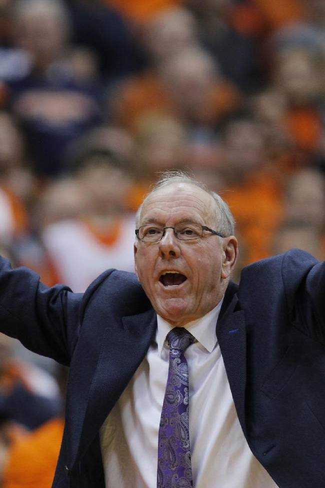 Syracuse still No. 1, but showing vulnerability
