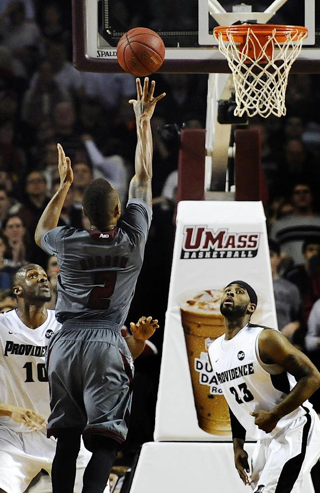 Gordon lifts No. 23 UMass past Providence in OT