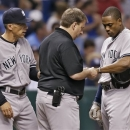 Granderson headed back to DL; Phelps survives scare photo