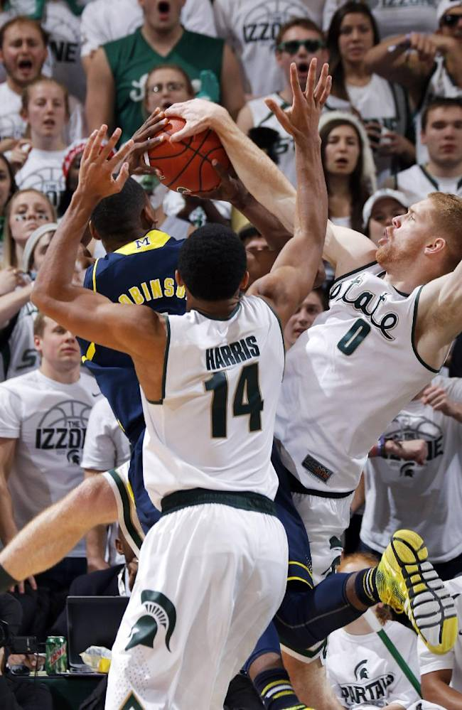 Robinson: Late skirmish helped fire up Wolverines
