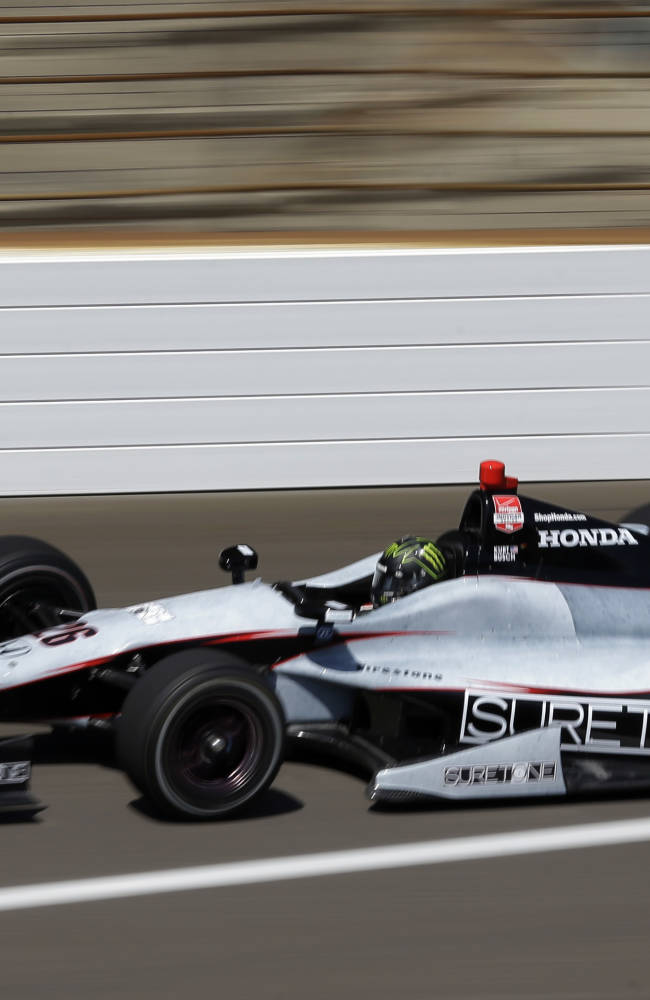 Kurt Busch getting comfortable in IndyCar testing