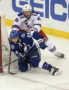 Brassard, Lundqvist lead Rangers past Lightning 7-3 The Associated Press