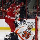 Staal, Malone lead Hurricanes past Flyers 2-1 The Associated Press