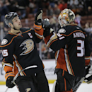 Ducks beat Flames at home for 19th straight time The Associated Press