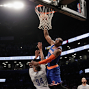 New York Knicks v Brooklyn Nets Getty Images