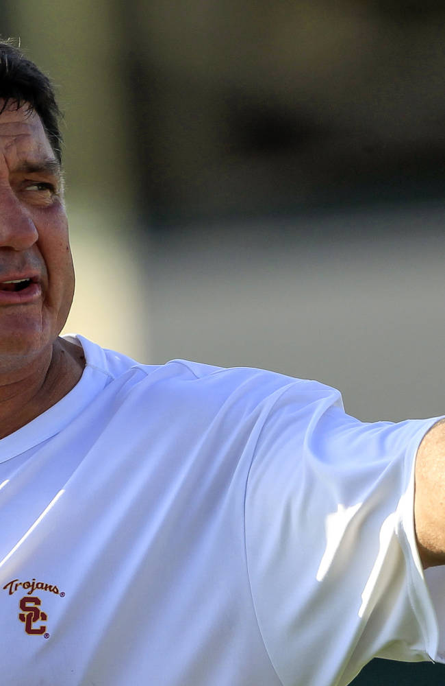 Ed Orgeron welcomes his time in USC spotlight