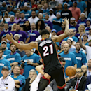 Miami Heat v Charlotte Hornets - Game Four Getty Images