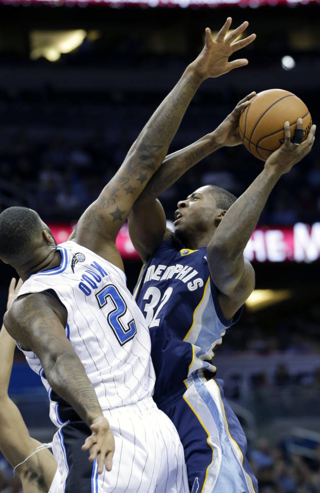 Mike Miller scores 19, Grizzlies down Magic 97-91