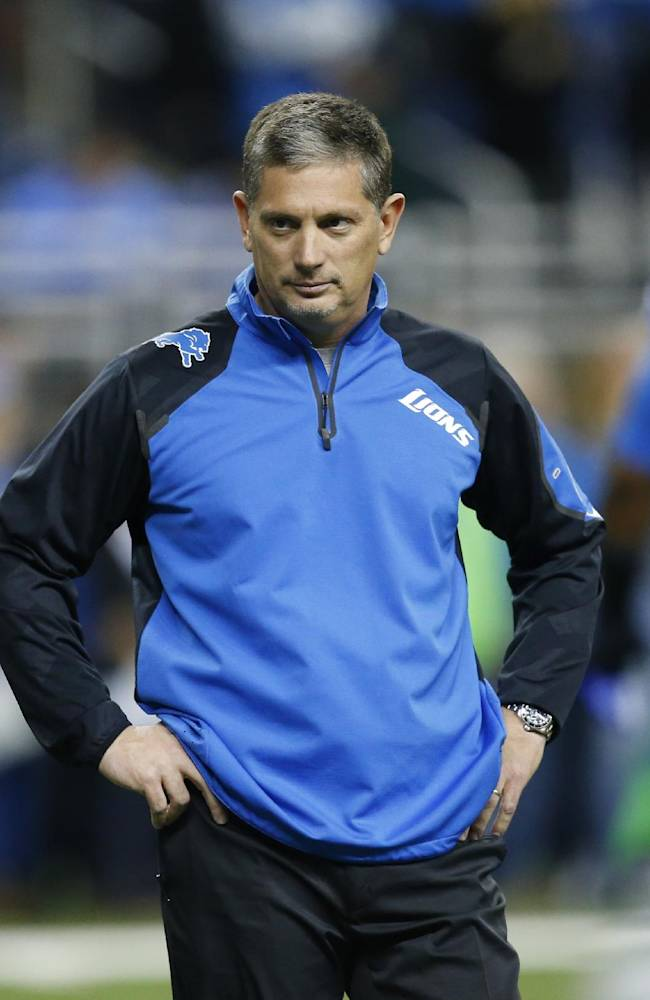 Lions coach focused on next game, not job security