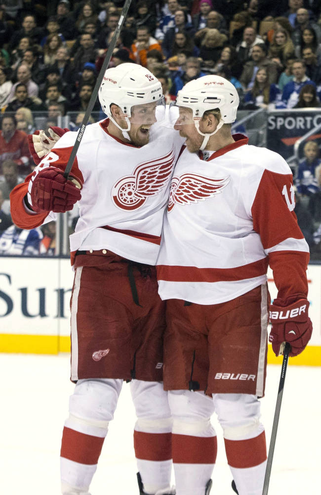 Red Wings beat Leafs in Winter Classic preview