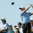 Mar 28, 2015; San Antonio, TX, USA; Jimmy Walker hits his tee shot on the seventeenth hole during the third round of the Valero Texas Open at TPC San Antonio - AT&T Oaks Course. Erich Schlegel-USA TODAY Sports