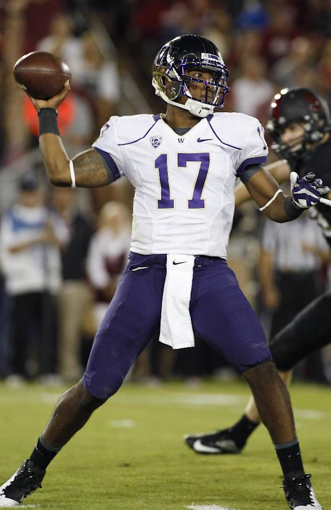 Doubted last season, Price is thriving for Huskies