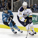Hodgson helps Sabres beat Sharks 2-1 The Associated Press