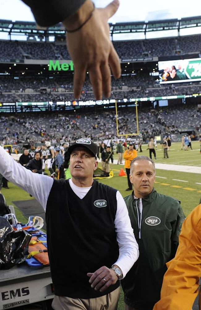 Rex Ryan's status with Jets remains unclear