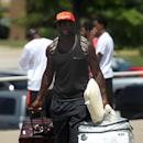 Kansas City Chiefs linebacker Tamba Hali moves in for NFL football training camp on Wednesday, July 23, 2014, in St. Joeph, Mo The Associated Press
