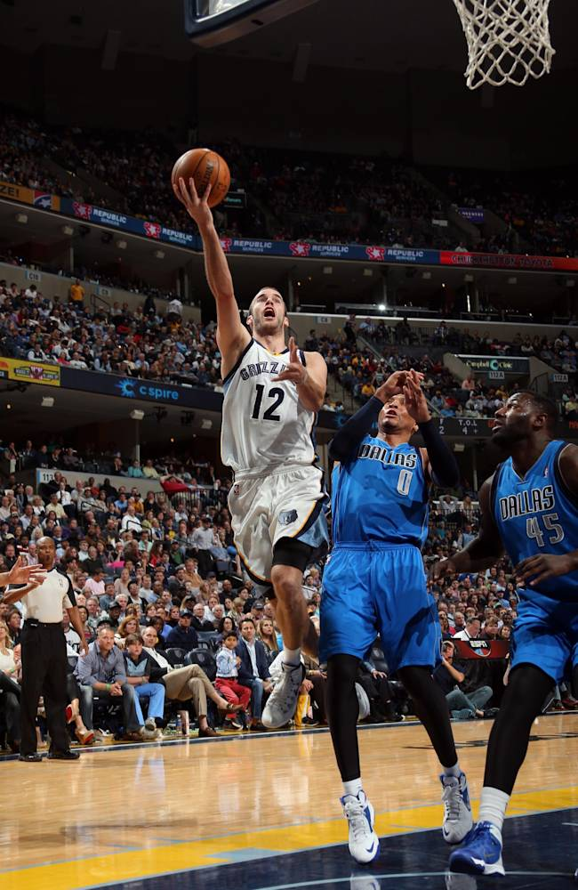 Grizzlies PG Nick Calathes suspended for 20 games