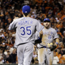 Royals beat Giants 3-2 for 2-1 World Series lead The Associated Press