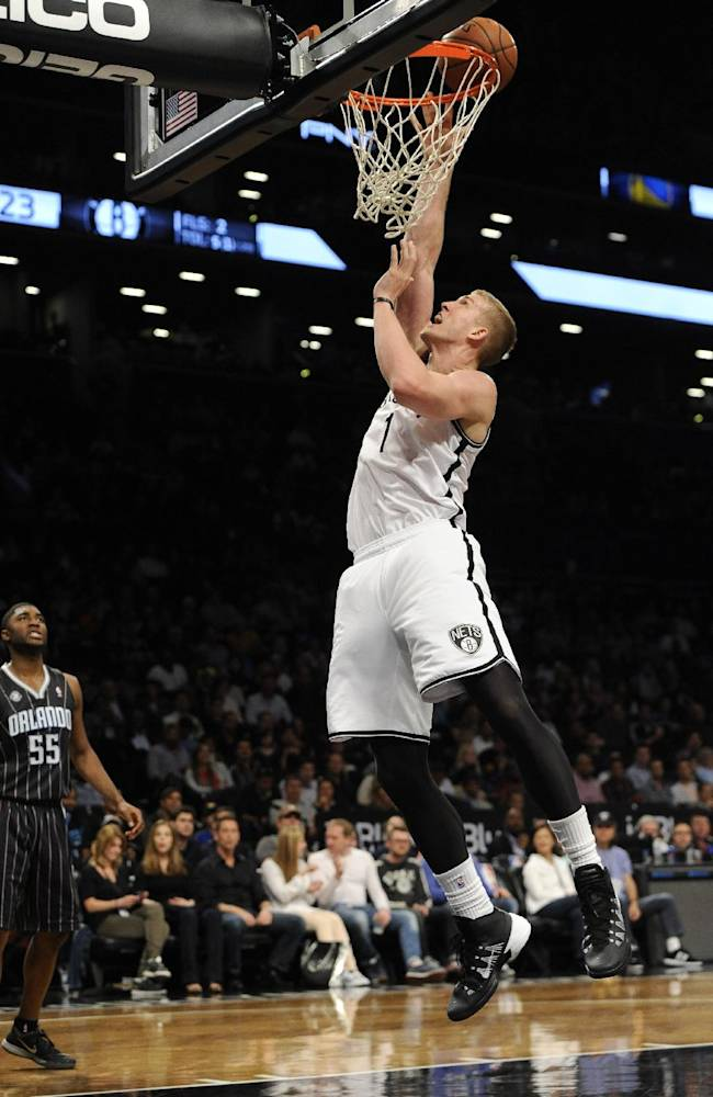 Nets upend Magic 97-88