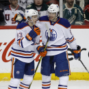 Pouliot scores twice as Oilers beat Wild The Associated Press