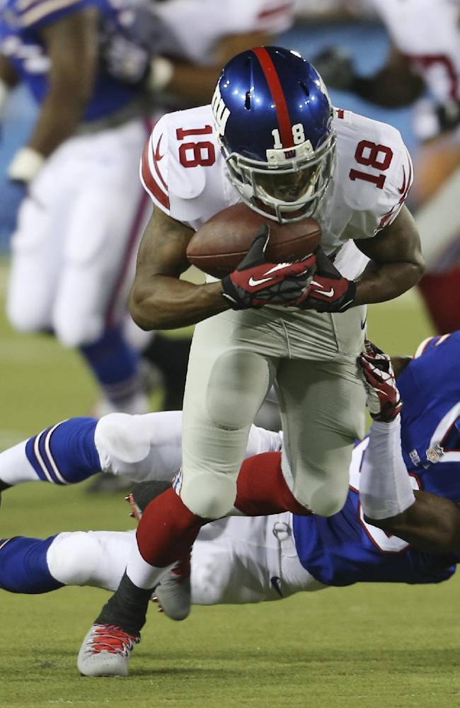 Giants confident in depth at running back