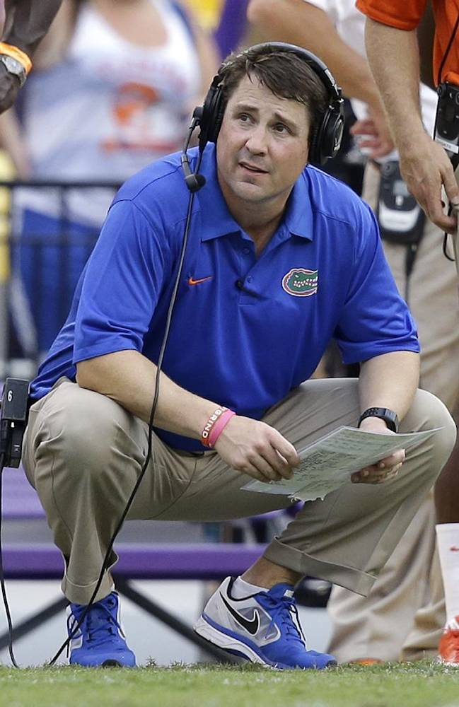 No. 22 Florida down, but not out in SEC East race