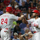 Hamels, Rollins power Phillies past Braves 2-1 The Associated Press