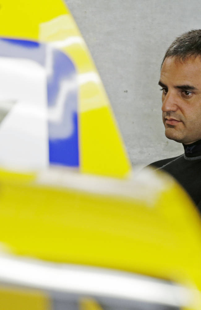 Montoya back at Indy intent on winning for Penske