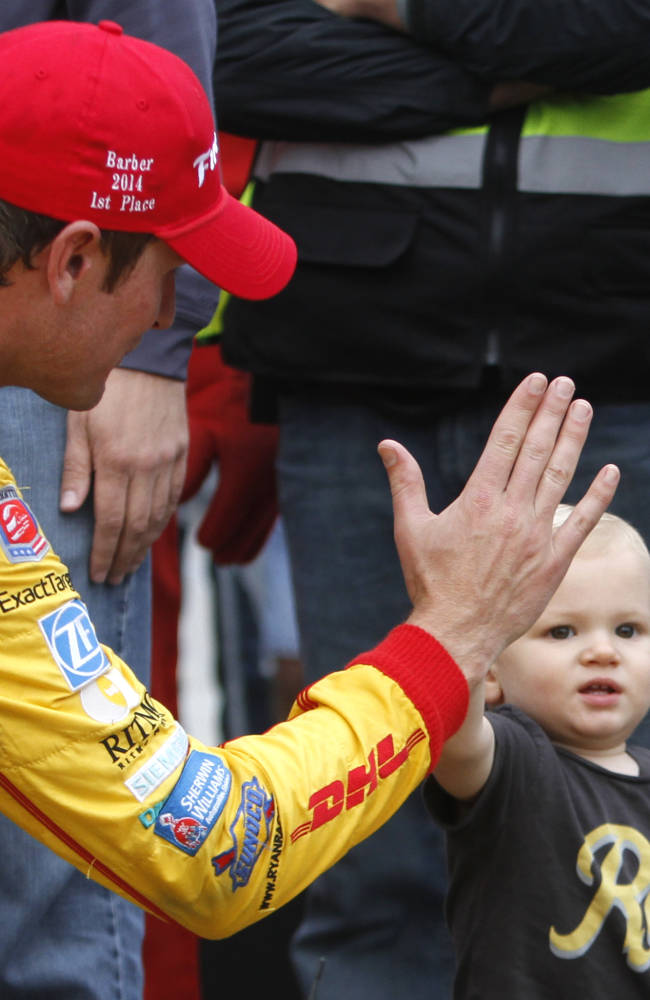 Hunter-Reay, Andretti get 1-2 finish for team