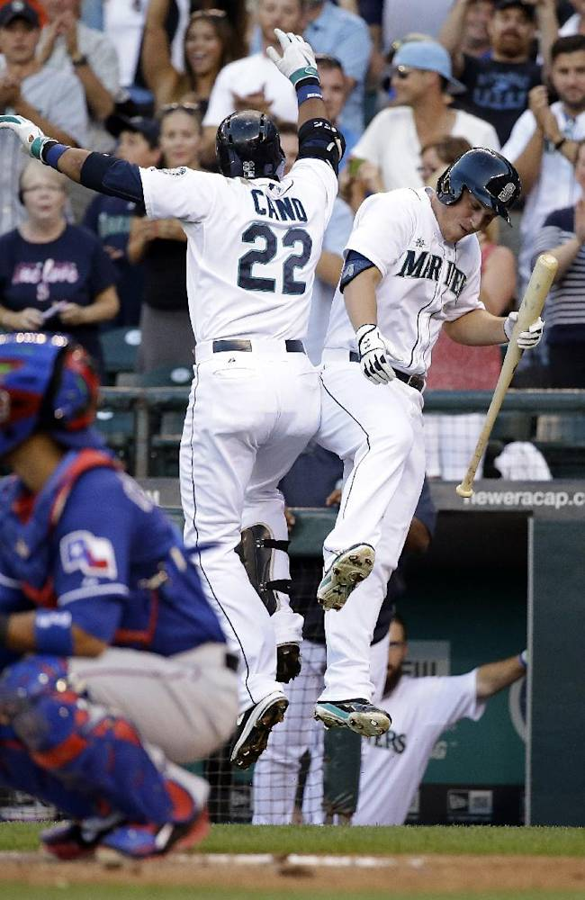 Cano homers, Mariners beat Rangers 5-0