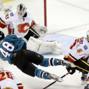 Ramo makes 32 saves to lead Flames past Sharks 2-0 The Associated Press