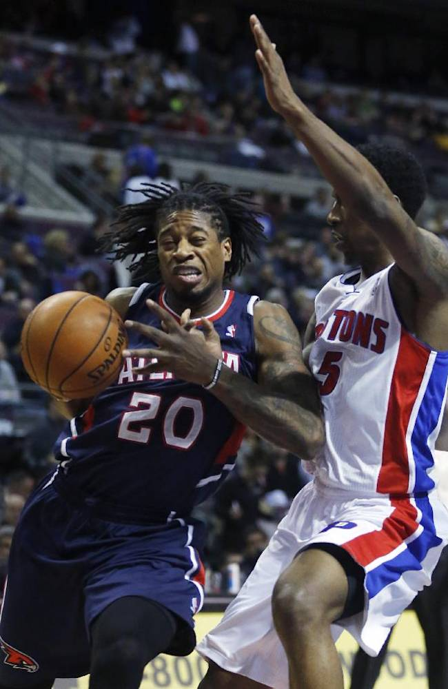 Jeff Teague helps Hawks hold off Pistons, 96-89