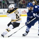 Bruins cruise past Maple Leafs 4-1 The Associated Press