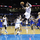 Westbrook's 3-pointer beats Warriors in OT The Associated Press