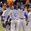 Royals edge Giants 3-2 for 2-1 World Series lead The Associated Press