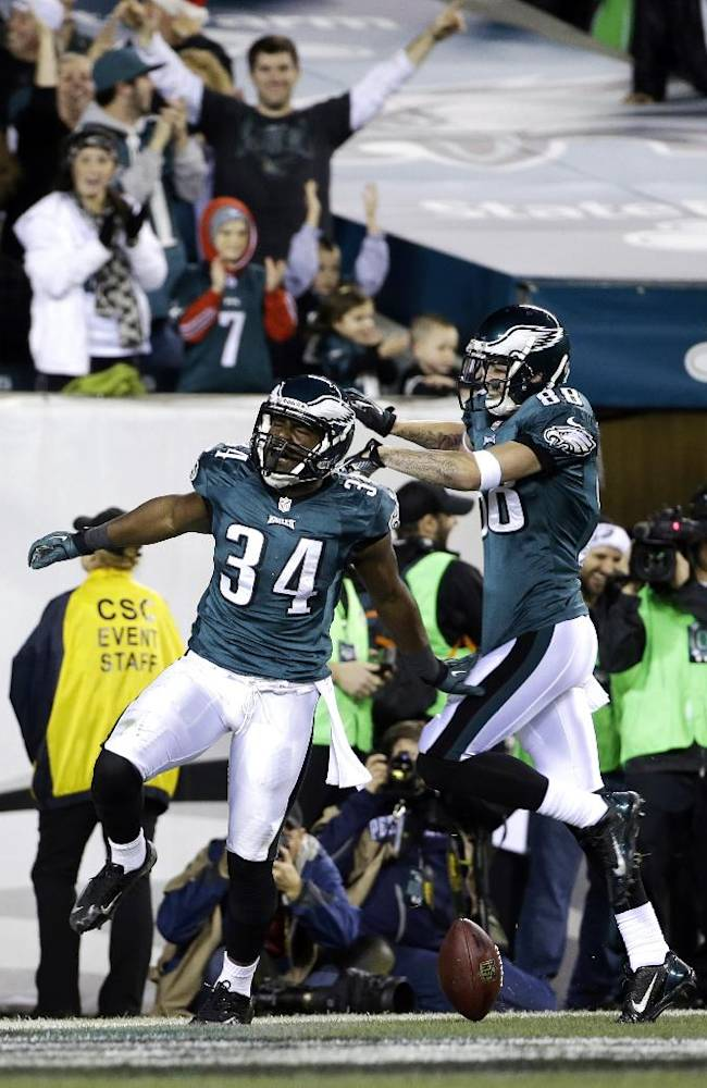 Eagles eager to play Dallas for division title