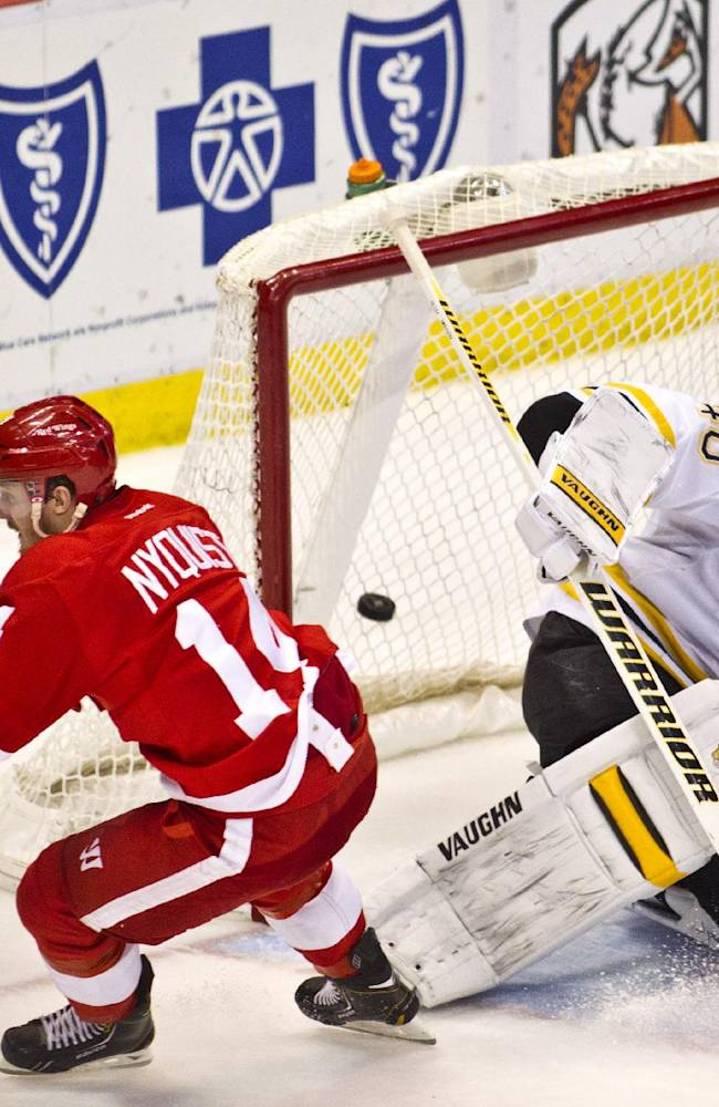 Red Wings' Nyquist joins elite company with surge