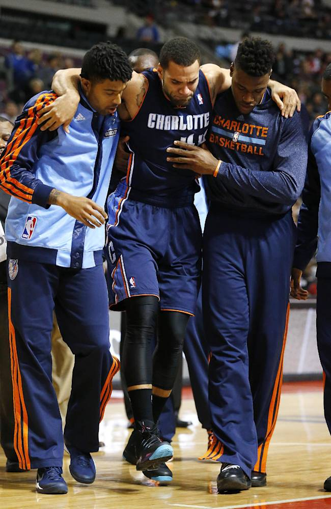 Bobcats' Taylor out for year with Achilles injury