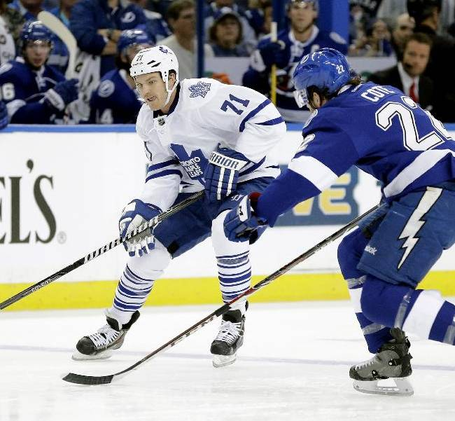 Bernier keys Maple Leafs' 4-1 win over Lightning