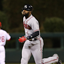 Atlanta Braves right fielder Jason Heyward in action during a baseball game with the Philadelphia Phillies, Friday, Sept. 26, 2014, in Philadelphia The Associated Press