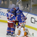 Flyers-Rangers Preview The Associated Press