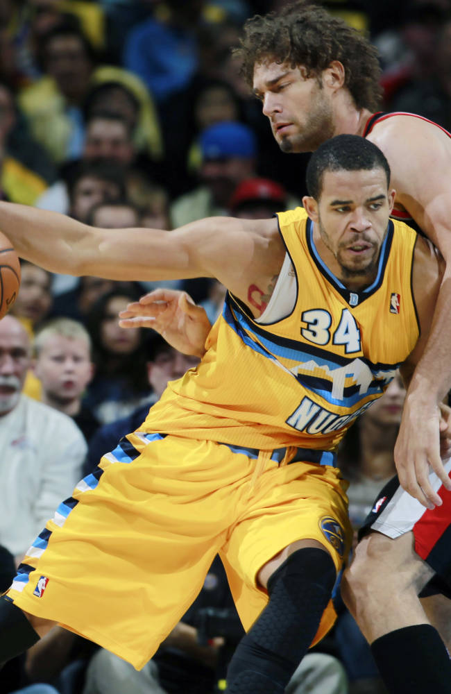 Aldridge helps Blazers past Nuggets, 113-98