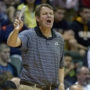 FILE - In this Nov. 23, 2012, file photo, UTEP head coach Tim Floyd reacts to a play during the second half of an NCAA college basketball game against Clemson at the Old Spice Classic in Kissimmee, Fla. Floyd has met with Southern California athletic director Pat Haden about USC's opening, UTEP athletic director Bob Stull said Tuesday, March 5, 2013. Floyd resigned from USC under accusations that he improperly recruited star O.J. Mayo. His successor, Kevin O'Neill, was fired in January after three mostly disappointing seasons. (AP Photo/Phelan M. Ebenhack, File)