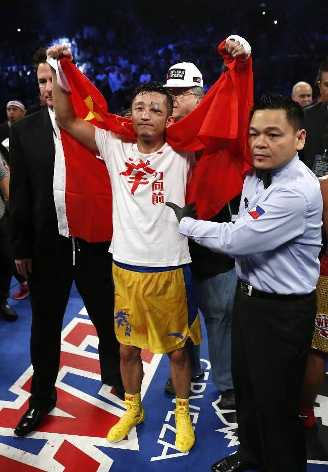 Pacquiao fight a boost to boxing in China