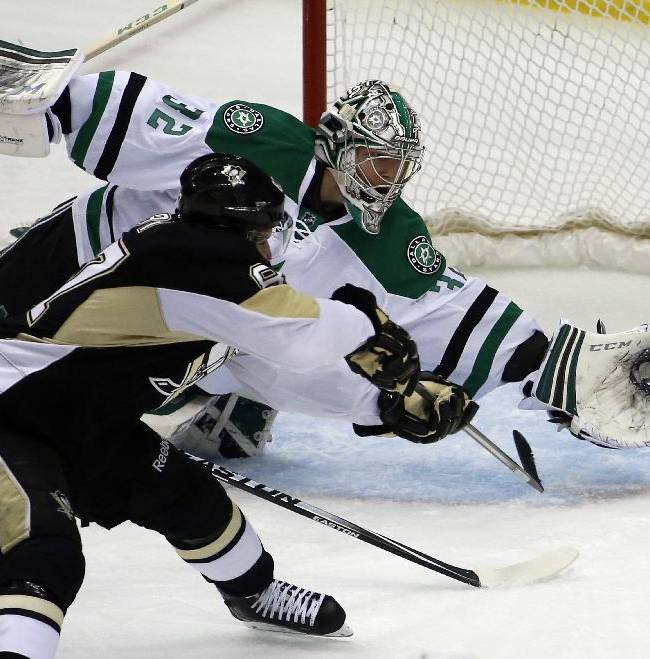 Penguins bounce back, top Stars 5-1