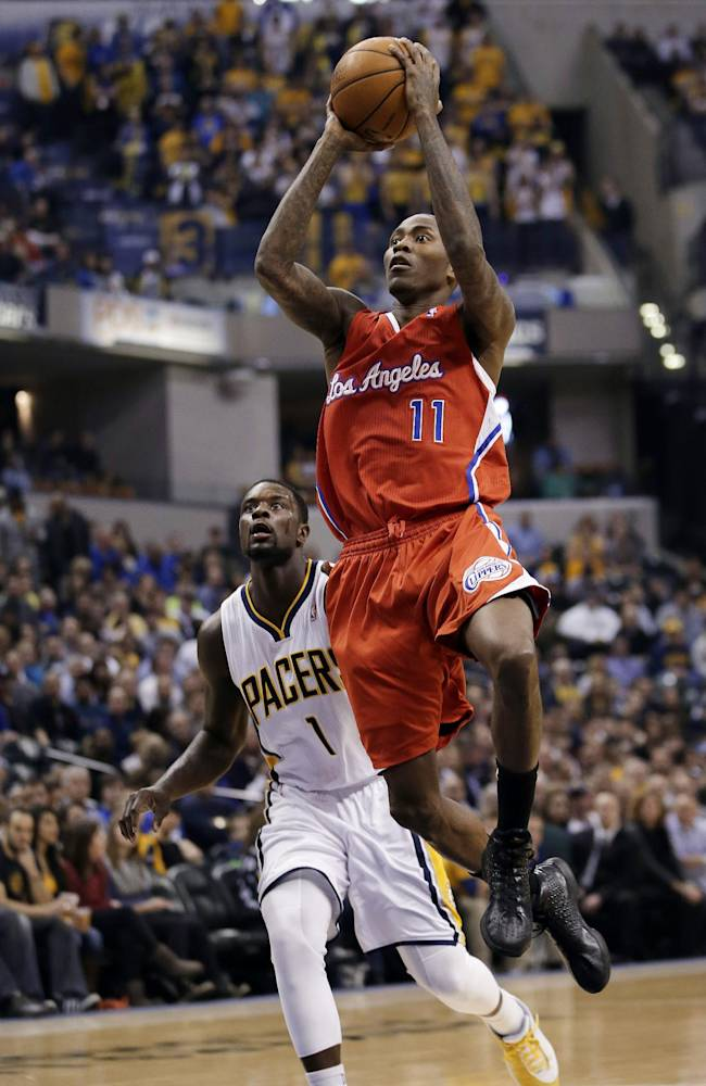 Indiana stays hot, tripping up Clippers 106-92