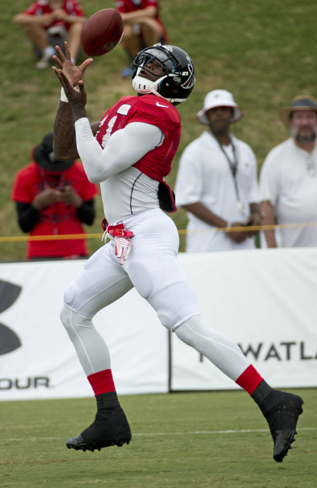 Julio Jones says right foot completely healed
