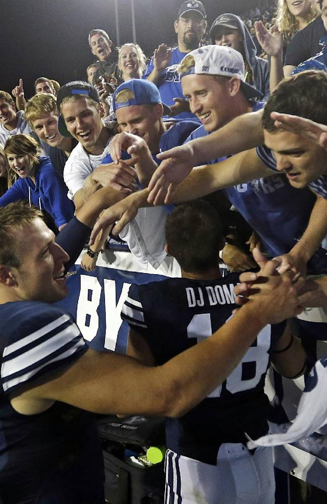 Hill beginning to flourish in new BYU offense